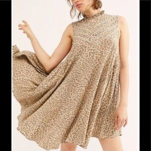 Spell & The Gypsy Frankie Tunic Dress In Cheetah